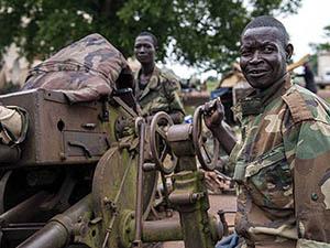 Seleka, Orta Afrika'da Bir Şehri Aldı