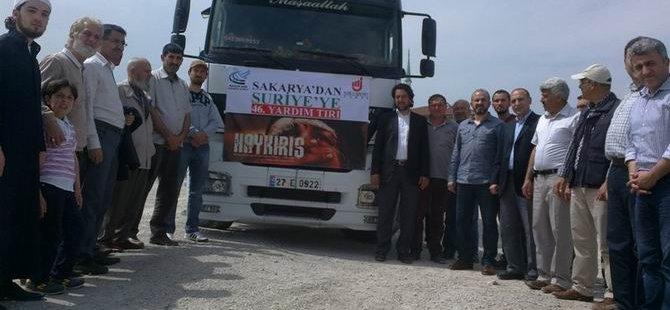 Sakarya'dan Suriye'ye 46.Tır Yola Çıktı