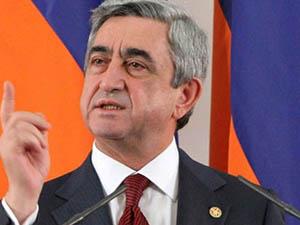 Sarkisyan'dan Türkiye'ye Cevap