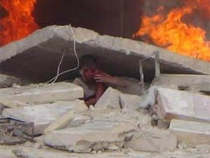 Suriye'de Yine Katliam: 62'si Halep'te 128 Şehit (VİDEO)