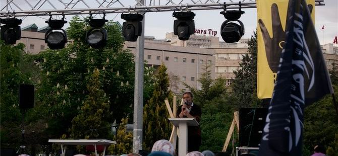 """Ankara'da """"Kardeşlik Nöbeti""""nde Ümmet İftarı Düzenlendi"""