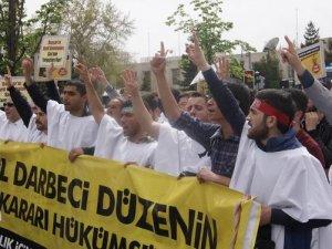 Ankara ABD Büyük Elçiliği Önünde Sisi Protestosu