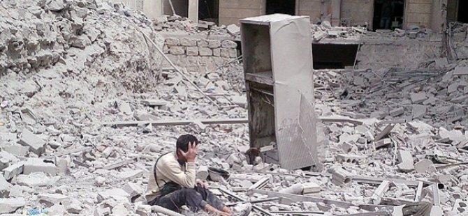 Halep'te 'Sıradan' Bir Katliam Günü (VİDEO)
