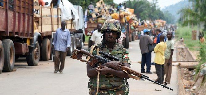 Orta Afrika'da Müslüman Nüfusa Zorunlu Göç