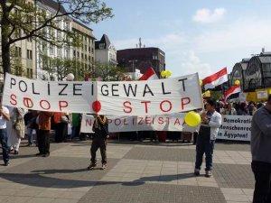 Hamburg'ta İdam Kararları Protesto Edildi