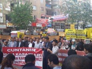 Mısır Cuntasının İdam Kararları Diyarbakır'da Kınandı