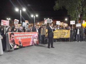 Sivas'ta Cuntanın İdam Kararları Protesto Edildi