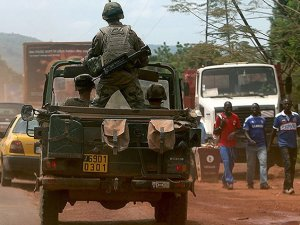 Orta Afrika Cumhuriyeti'nde Müslüman Kafilesine Saldırı