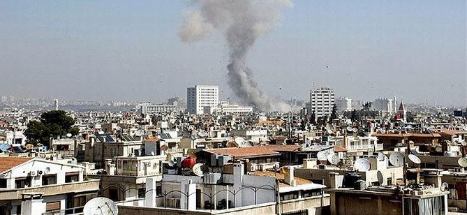 Şam'da Okula Havan Topu: 12 Ölü