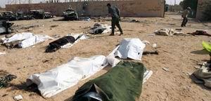 Humus'ta Bombalı Saldırı: 36 Ölü