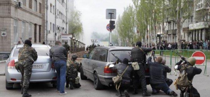 Ukrayna'da Bazı Konsolosluklar İşgal Edildi