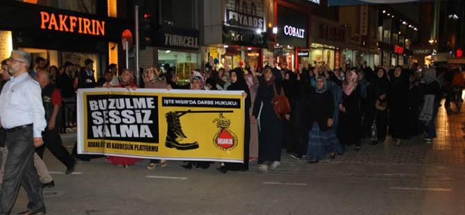 Adana'da İdamlara Karşı Protesto Yürüyüşü