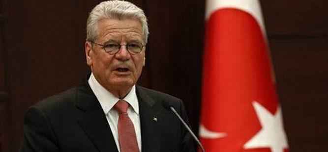 Gezici STK'lar Gauck'la Görüştü