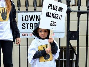 İdam Cezaları Londra'da Protesto Edildi