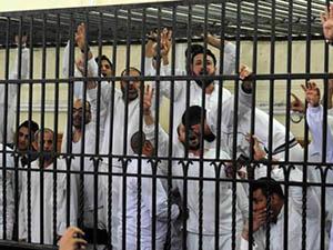Mısır Hapishanelerinde Açlık Grevi Başladı