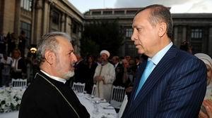 Erdoğan Ermeni Patrik Vekili Ateşyan'ı Kabul Etti