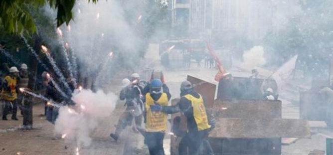 İstanbul ve Ankara'da Çatışmalar