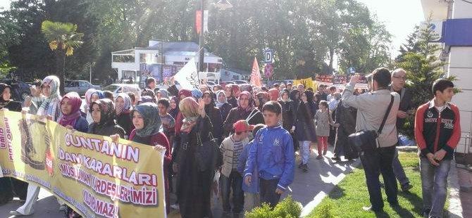 Ereğli'de İdam Kararları Protesto Edildi