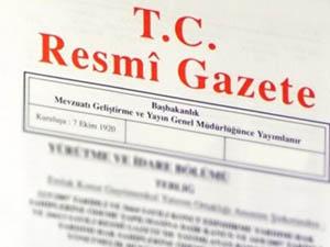 Geçici Bakanlar Kurulu Kararı Resmi Gazete'de