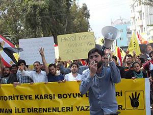 Kıbrıs'ta Mısır Protestosu