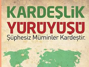 Taksim'de Kardeşlik Yürüyüşü Yapılacak