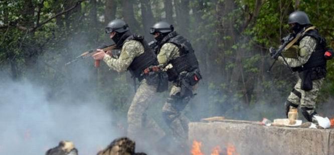 Ukrayna Ordusu Slovansk'a Girmeye Hazırlanıyor