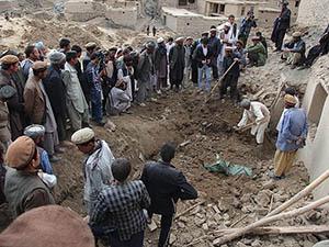 Afganistan'da Köylülerin Umut Kazısı
