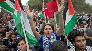 İşgal Topraklarında Filistinliler Yürüdü