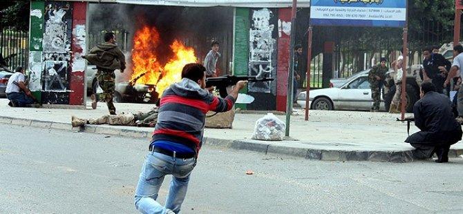Libya'da Silahlı Çatışma