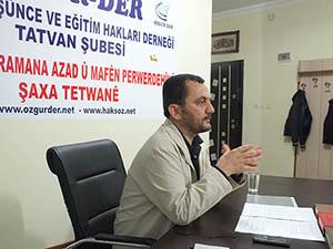 "Tatvan'da ""Kur'an'da Ahlak"" Semineri Yapıldı"