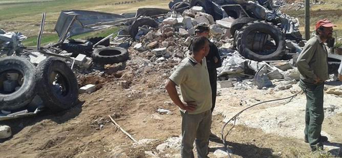 Batı Şeria'da Yıkım ve Tutuklamalar