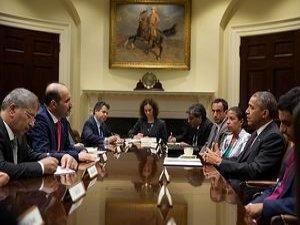 Obama Carba İle Görüştü