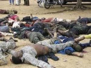 Nijerya'da Köylüler Boko Haram'ın Saldırısını Önledi