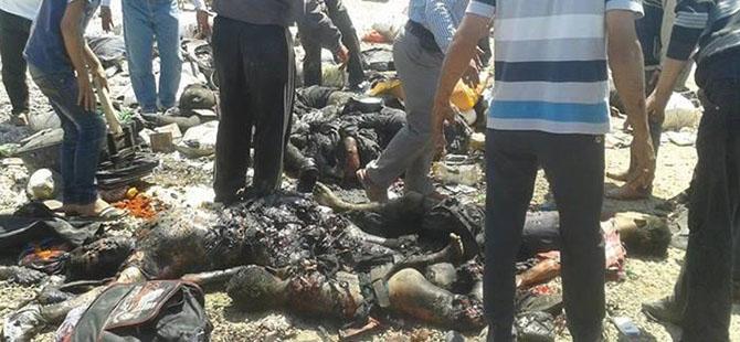 Bab es-Selame'deki Patlama Görüntüleri: Onlarca Ölü!