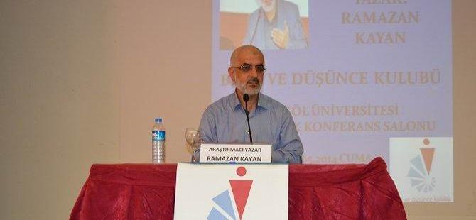Bingöl'de ''İslami Kimliğin İnşası'' Konferansı
