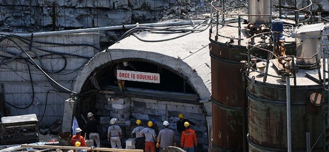 Maden Ocağı Tümüyle Boşaltıldı