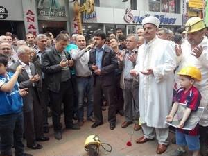Zonguldak'ta Soma İçin Basın Açıklaması