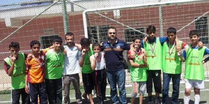 Diyarbakır'daki Futbol Turnuvası Sona Erdi