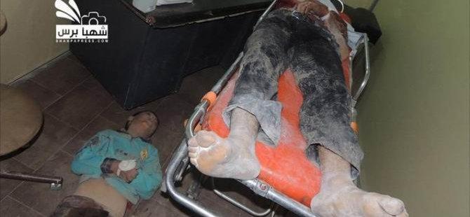 Suriye'de Yine Klor Gazı İddiası