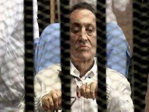 Mübarek'e 3 Yıl Hapis
