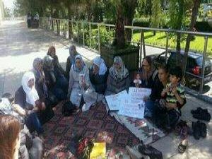 'PKK Çocuğumu Ver' Eylemi 4'üncü Gününde