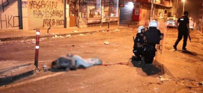 Okmeydanı'nda 7'si Polis 9 Kişi Yaralı