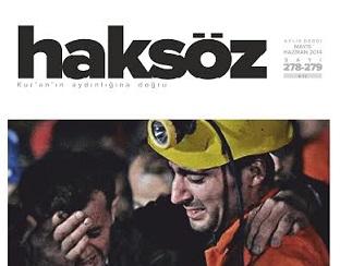 Haksöz Dergisinin Mayıs-Haziran Sayısı Çıktı