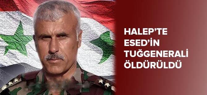 Halep'te Esed'in Tuğgenerali Öldürüldü