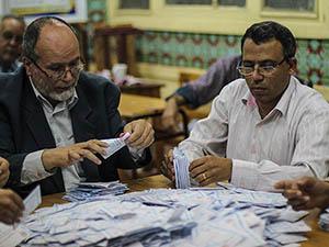 Mısır'da Oy Sayım İşlemi Tamamlandı