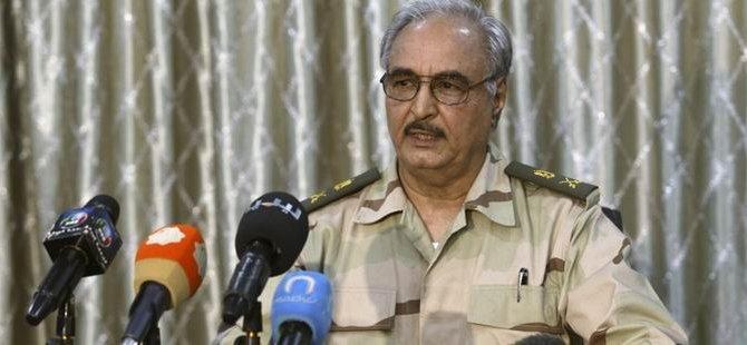Haftar'dan Mısır ve BAE'den Askeri Yardım İtirafı