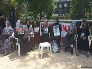 'PKK Çocuklarımızı Geri Ver' Eylemi Sürüyor