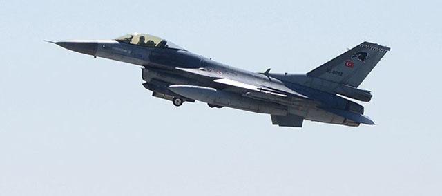 Suriye'den Türkiye F-16'sına Taciz