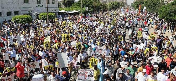 Mısır'da 45 Bin Darbe Karşıtı Açlık Grevine Başladı