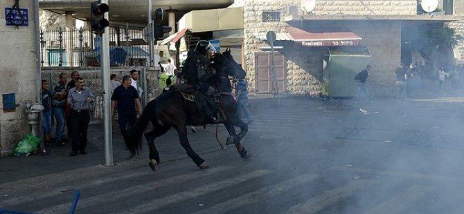 İsrail'den Protesto Gösterilerine Müdahale